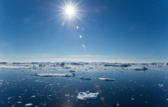 Sun Over Antarctica